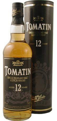 Tomatin Scotch Single Malt 12 Year